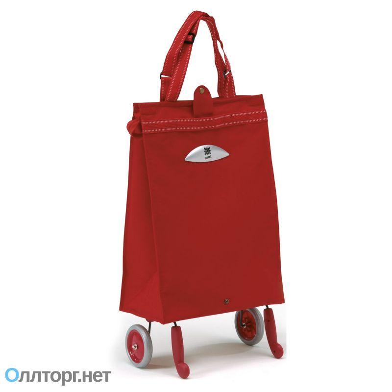 c39c8c311bdc Прочная хозяйственная сумка с колесами GIMI BRAVA