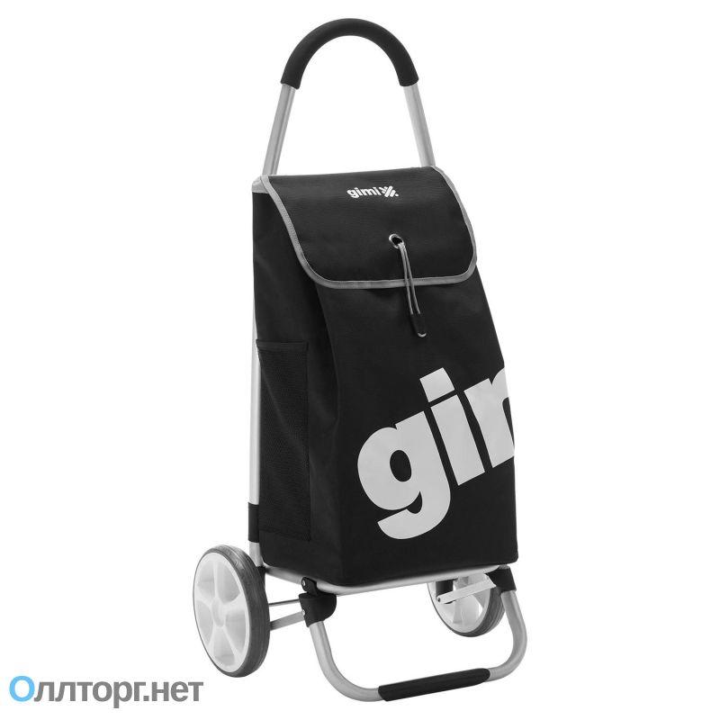 51a0e4f753f9 Прочная хозяйственная сумка-тележка на больших колесах GIMI GALAXY ...